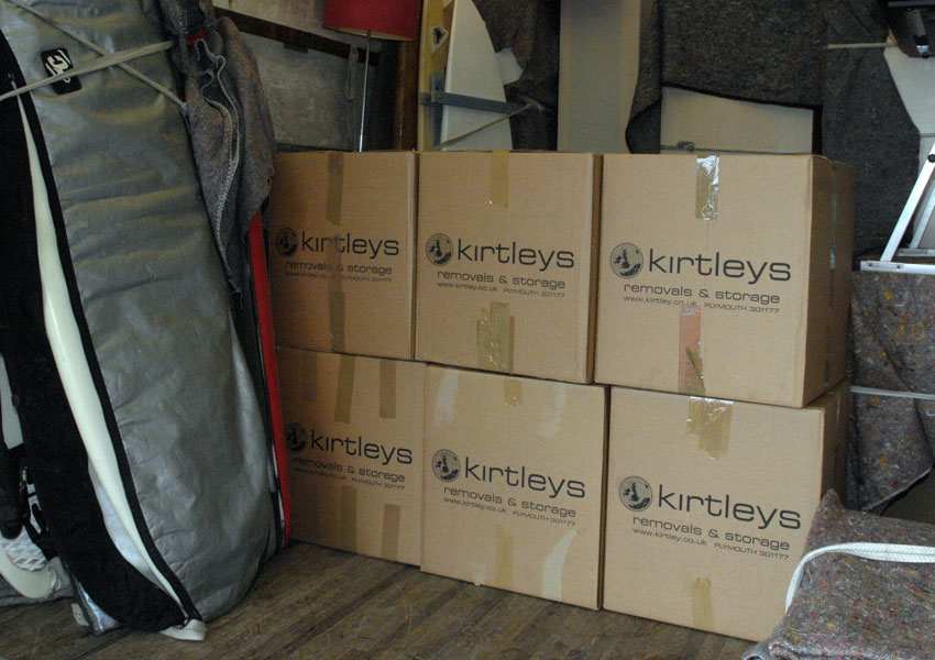 Kirtleys provides secure storage in Plymouth